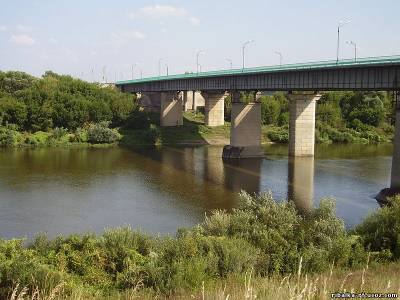 Мост через дон у воронежа на курской